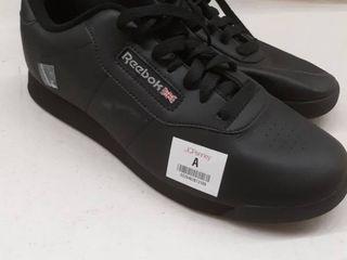 Reebok classic women s black size 10
