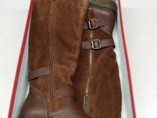 American Rag Collins leather Buckled Boots  Size 9M