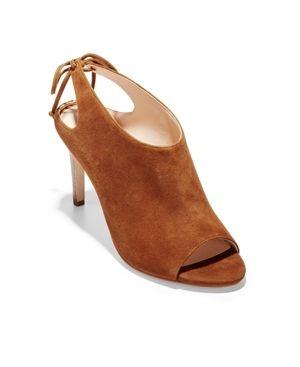 Women s Cole Haan Emmett Tie Back Sandal  Size 10 B   Brown