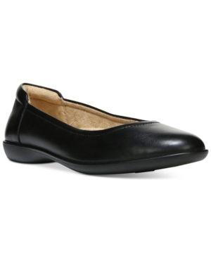 Naturalizer Flexy Slip on Flats Women s Shoes  Size 8W