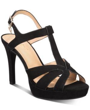Thalia Sodi Verrda Platform Dress Sandals  Created for Macy s Women s Shoes  Size 7M