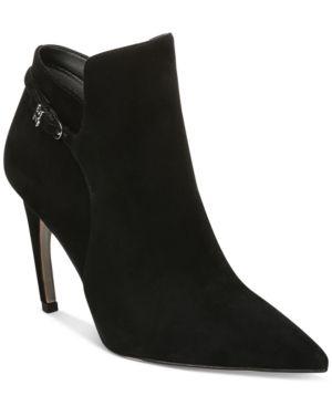 Women s Sam Edelman Fiora Pointed Toe Bootie  Size 7 M   Black