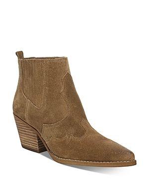 Sam Edelman Winona Western Booties Women s Shoes  Size 6 5M