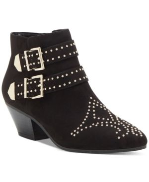 Inc Iliana Studded Western Ankle Booties  Size 8M