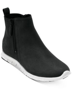 Cole Haan Zerogrand Side Zip Booties  Size 9B