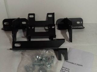 Black Horse Off Road Bull Bar Brackets 09 15 Dodge RAM Part   E10 with Installation Instructions