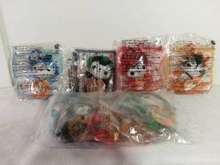 lot of 8 McDonald s Happy Meal Toys from China 2006 Friendlies Toys Unopened Packages