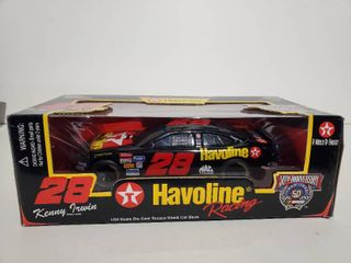 Racing Champions Havoline Racing   28  50th Ann  1998  1 24 scale  Die Cast Bank Car