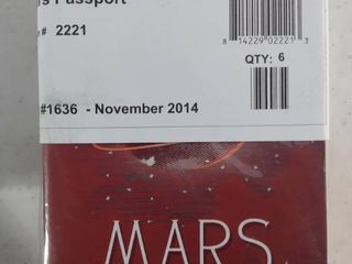 lot Of 3 Mars Passport Notebooks Packs  6 Notebooks In Each Pack