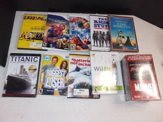 Nice lot Of Visual Entertainment Games DVD And VHS Tapes