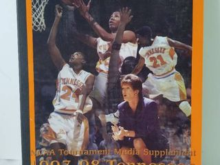 1997 98 NCAA Tournament Media Supplement  Tennessee ladies Basketball