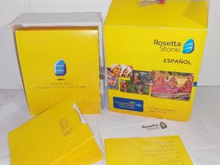 Rosetta Stone EspaAol Box Set with CDs and Activation Code Card