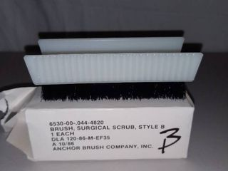 Surgical Scrub Brush Style B