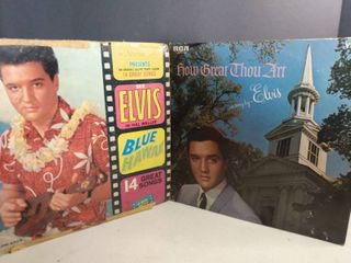 lot Of 2 Elvis Presley Collectable Albums