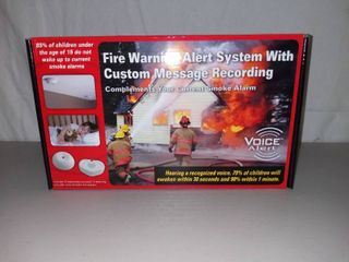 Voice Alert Fire Warning Alert System With Custom Message Recording