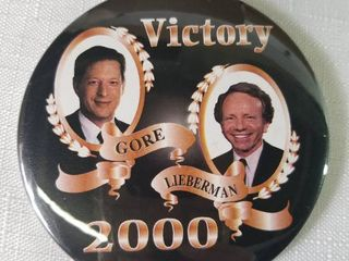 Mega lot of Pins  29 Missourians for Kerry Pins  15 Gore lieberman Victory Pins