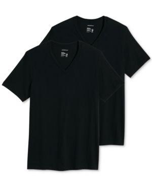 Jockey Men s Big   Tall Classic Tagless V Neck Undershirt 2 pack 3xl