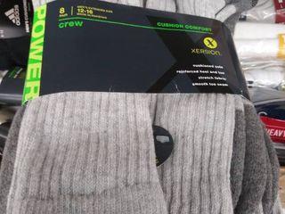 mens crew socks 12 16