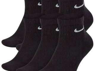 Nike Men s Cotton Quarter Socks 4 pair