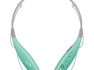 ilive Audio Wireless Stereo Neckband Headset   Teal  IAEB25Tl
