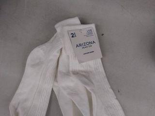 2 pair bobby socks l 4 10