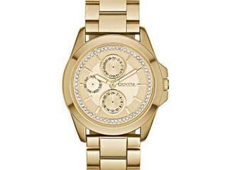 Geneva Women s FMDJM123 Analog Display Quartz Gold Watch