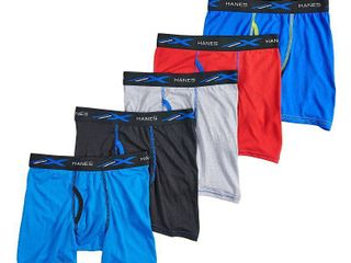 Boys 4 20 Hanes Boxer Briefs  Boy s  Size  Medium 4 pair