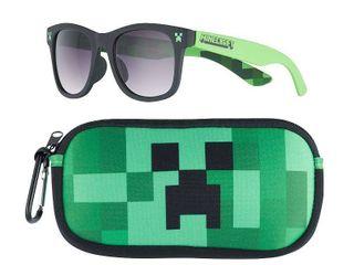 Boys 8 20 Minecraft Sunglasses   Case Set