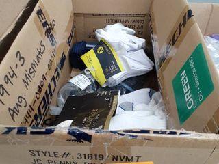 miscellaneous box of sox