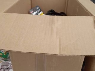 miscellaneous box of belts