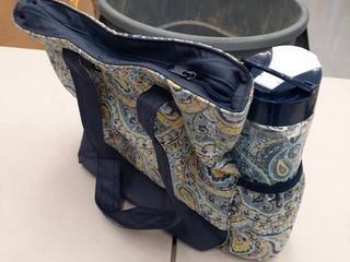 Bradford lunch Bags Kit Adults With Water BottleBlue