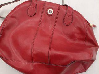 liz Claiborne red purse