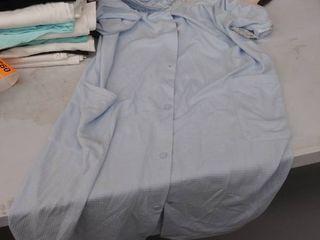 women s night gown medium  2 buttons damaged