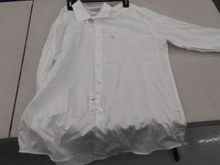 men s 17 1 2  34 35 shirt  stained