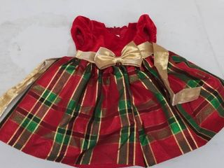 girls 12 mos dress  tear on now ribbon