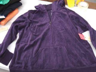 women s 0X hoodie jacket
