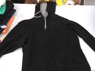 mens small hooded jacket