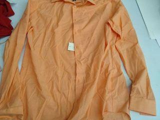 Men s Dress shirt size large