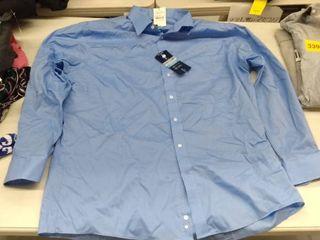 Stafford Dress Shirt  Size 17 5  34 35