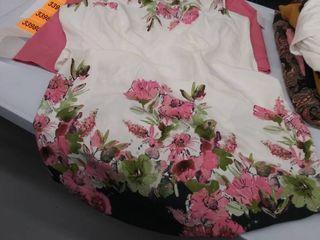 women s 18W dress and jacket  small spot on dress