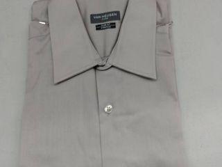 Van Heusen Made To Match long Sleeve Twill Dress Shirt   Slim