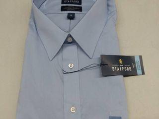 Stafford Dress Shirt  Size 19  Big  36 37