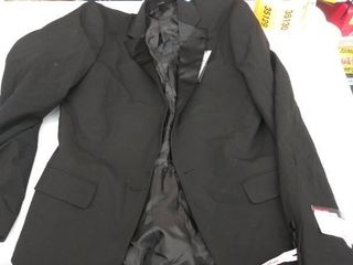 mens sports coat 38long  missing button