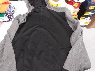 xxl hooded quarter zip sweatshirt