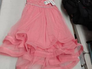 Girls  Size 16  Speechless Off the Shoulder lace To Mesh Dress