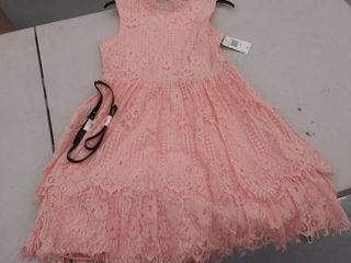 girls size 16 dress  has hole