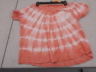 women s xl t shirt  small holes