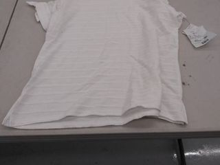 women s large top  stained