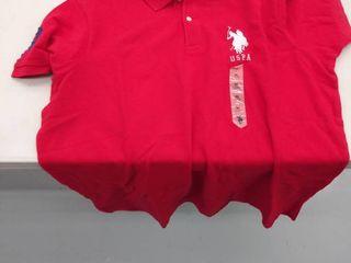 U S Polo Assn  men s Xl shirt stained