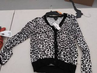 women s small sweater  has mark on front